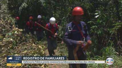 Defensoria Pública presta assessoria jurídica para famílias das vítimas de Brumadinho