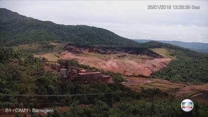 Novas imagens mostram rompimento de barragem em Brumadinho