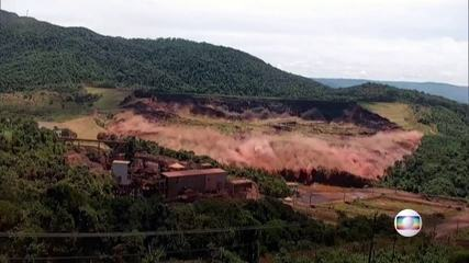 Fantástico explica, em detalhes, como o rompimento da barragem em Brumadinho ocorreu