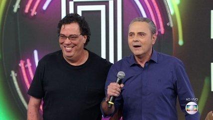 Walter Casagrande e Luis Roberto acertam e Baby do Brasil vai ao palco