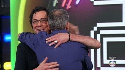 Walter Casagrande e Luis Roberto vencem o 'Super Ding Dong'