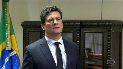 Sergio Moro vai apresentar proposta de combate à criminalidade