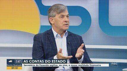 Secretário da Fazenda, Paulo Eli, fala sobre cenário econômico de Santa Catarina no BDSC
