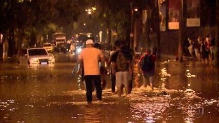Chuva causa três mortes no Rio de Janeiro