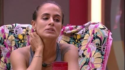 Carolina para Diego: 'Para de esperar as coisas das pessoas'