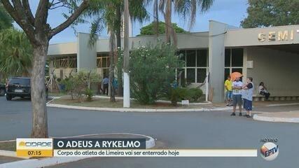 Corpo de Rykelmo, que jogava no Flamengo, será sepultado nesta segunda-feira em Limeira