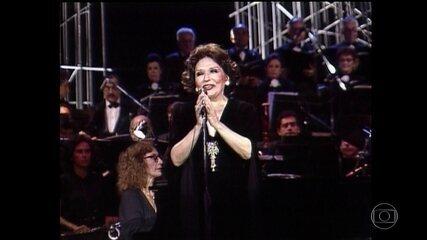 Bibi Ferreira teve uma carreira intensa de 77 anos de teatro e música