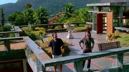 Jerônimo (Jesuíta Barbosa) vai morar em mansão de Quinzinho (Caio Paduan)