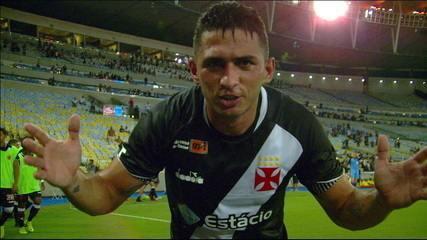 O gol de Vasco 1 x 0 Fluminense pela final da Taça Guanabara