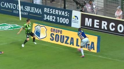 Os melhores momentos de América-MG 0 x 0 Cruzeiro, pela 7ª rodada do Campeonato Mineiro