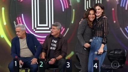 Totia e Camila acertam e Whadi Gama vai ao palco