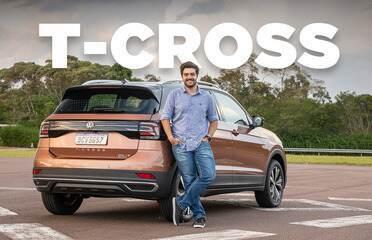 Apesar de pequeno, Volkswagen T-Cross é rival à altura de Creta e HR-V