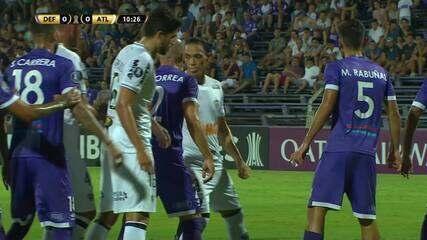 Melhores momentos de Defensor 0 x 2 Atlético-MG, pela 3ª fase da Libertadores