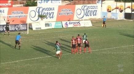 Confira os gols da vitória do Campinense sobre o Nacional de Patos