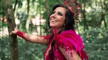 VEJA VÍDEO: Muriel Quixaba é a musa da Colorado do Brás