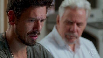 O espírito de Vicente orienta Alain, mas Felipe o atrapalha