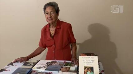 Aos 86 anos, Anízia Batista tem sonho de conhecer Padre Fábio de Melo