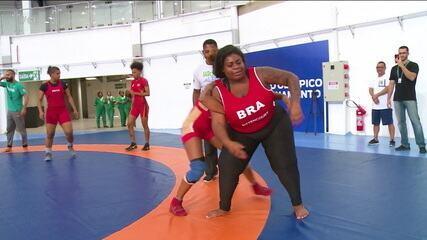 Jojo Todynho relembra época em que praticava luta olímpica