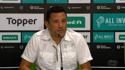 Dirigente diz que Goiás buscará reforços pontuais enquanto for possível