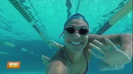 Promessas olímpicas: dois anos depois, nadadora Rafaela Raurich comemora medalhas