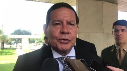 Mourão diz que Bolsonaro foi 'mal interpretado' em fala sobre Forças Armadas e democracia