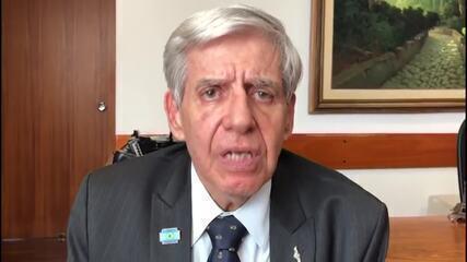 Ministro Augusto Heleno diz que Forças Armadas são 'baluarte' da democracia