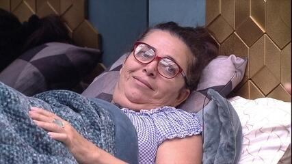 Tereza diz que Elana ficou nervosa por passar o dia no segundo andar da casa
