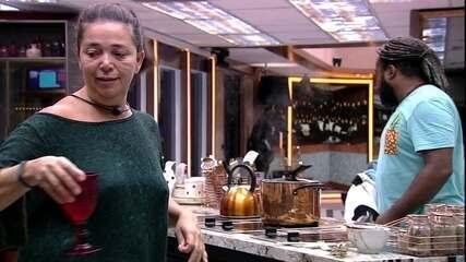 Após choro, Tereza garante a Rodrigo: 'Vai ficar tudo bem'