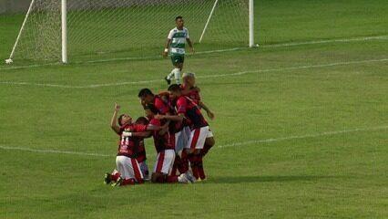 Os gols de Flamengo-PI 2 x 0 Altos pela nona rodada do Piauiense