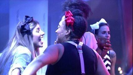 Hariany avisa brothers: 'Paulinha lambeu boca de Rízia'