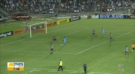 Confira como foi a derrota do Botafogo-PB para o Londrina em pleno Estádio Almeidão