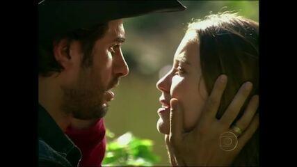 Eriberto Leão e Nathalia Dill relembram par romântico de 'Paraíso'