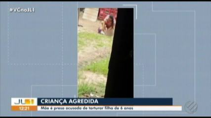 Polícia prende mulher acusada de torturar filha de seis anos em Xinguara, sudeste do Pará