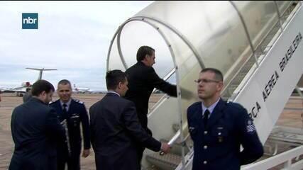 Presidente Jair Bolsonaro embarca para os EUA neste domingo (17)