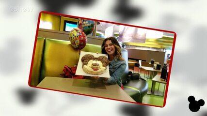 Giovanna Antonelli comemora aniversário na Disney