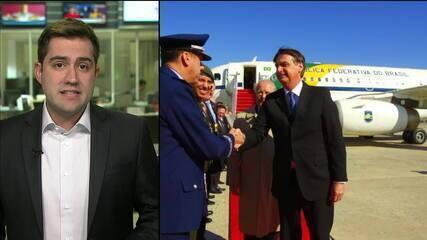 Bolsonaro visita sede da Agência de Inteligência Americana