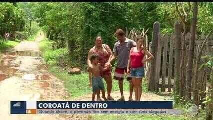 Moradores de povoado sofrem com as constantes faltas de energia