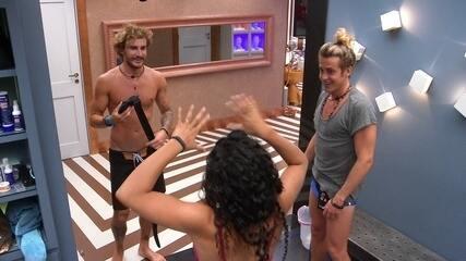 Elana conta do susto que deu em Alberto para Alan