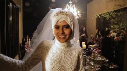 Confira os bastidores do casamento de Aziz e Laila