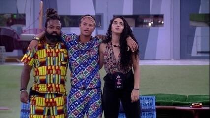 Danrley garante a Rodrigo e Elana: 'Isso aqui não vai acabar hoje'