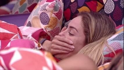 Paula aconselha Rízia sobre Alberto: 'Agarra ele'