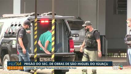 Secretário de Obras de São Miguel do Iguaçu é preso pela Polícia Civil