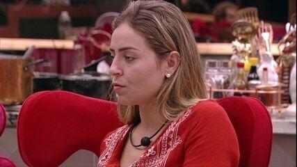 Paula fala sobre Isabella e relembra situação em que ficou nervosa