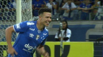 Gol do Cruzeiro! Marquinhos Gabriel amplia para o Cruzeiro, a 1 do 2ºtempo