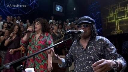 """Milton Nascimento, Gal Costa, Céu e Maria Gadú encerram programa com """"Maria Maria"""""""
