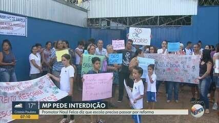 Ministério Público pede interdição da escola CAIC Antônio Palocci em Ribeirão Preto