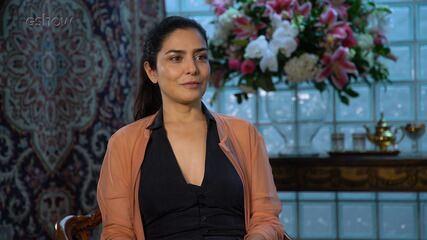 "Letícia Sabatella fala sobre Soraia, de ""Órfãos da Terra"""
