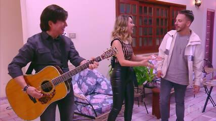 Sandy e Junior cantam 'Maria Chiquinha'