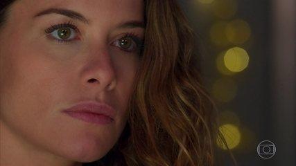 Isabel (Alinne Moraes) pensa em uma maneira de separar Cris(Vitória Strada) e Alain (João Vicente de Castro)