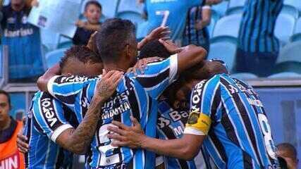 Confira os melhores momentos de Grêmio 3x0 São Luiz, pelo Gauchão